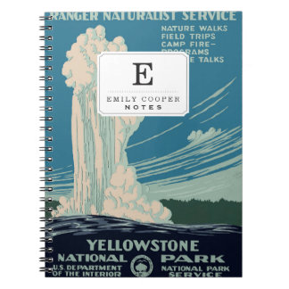 Yellowstone National Park Notebook