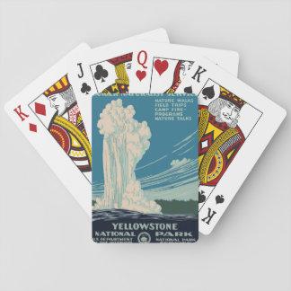 Yellowstone National Park Card Deck