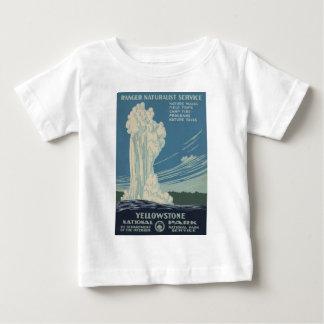Yellowstone National Park Old Faithful Baby T-Shirt