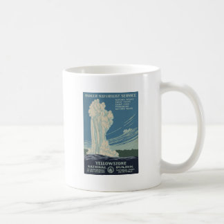 Yellowstone National Park Old Faithful Coffee Mug