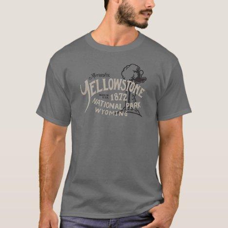 Yellowstone National Park Old Faithful Wyoming T-Shirt