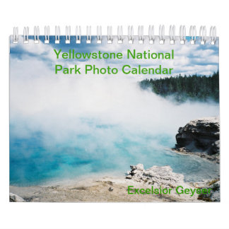 Yellowstone National Park Photo Calendar