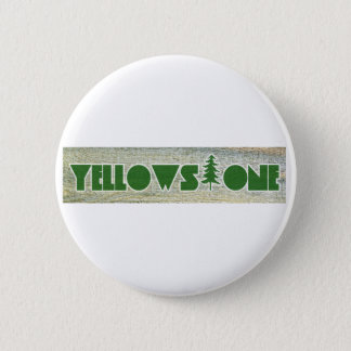 Yellowstone National Park Pinback Button
