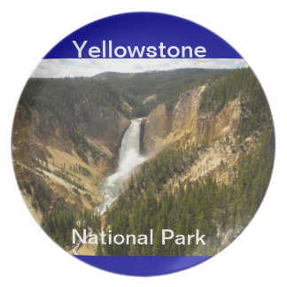 Yellowstone National Park Plate