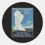 Yellowstone National Park ranger Stickers