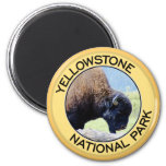 Yellowstone National Park Refrigerator Magnet