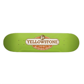 Yellowstone National Park Skateboard Deck