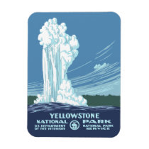 Yellowstone National Park Souvenir Magnet