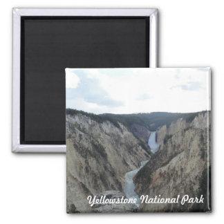 Yellowstone National Park Square Magnet Fridge Magnets