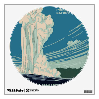 Yellowstone National Park Wall Sticker