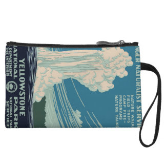 Yellowstone National Park Wristlet Wallet