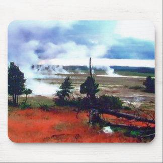 Yellowstone National Park Wymoing mousepad
