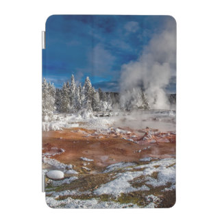 Yellowstone National Park Wyoming in winter iPad Mini Cover