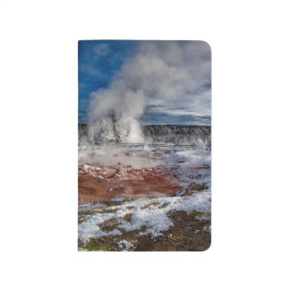 Yellowstone National Park Wyoming in winter Journal