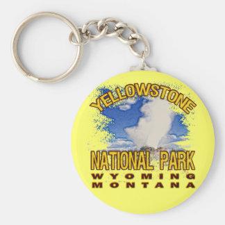 Yellowstone National Park, Wyoming Montana Key Chains
