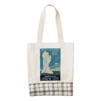 Yellowstone National Park Zazzle HEART Tote Bag