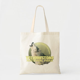 Yellowstone NP (Gray Wolf) WT Tote Bag