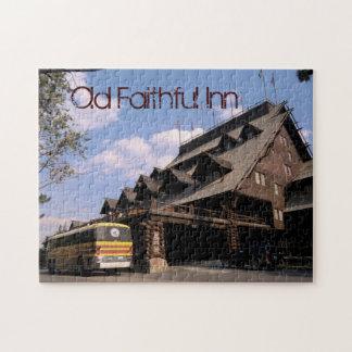 Yellowstone Old Faithful Inn - Puzzle