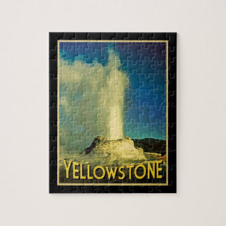Yellowstone Old Faithful Jigsaw Puzzle