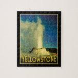 Yellowstone Old Faithful Puzzle