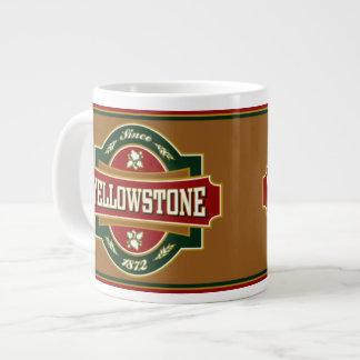 Yellowstone Old Label Jumbo Mug