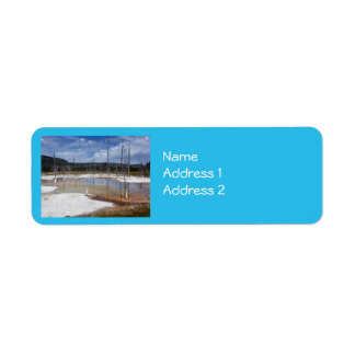 Yellowstone: Opalescent Pool Label