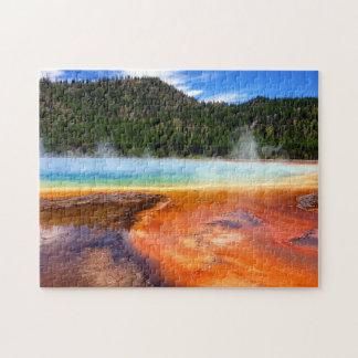 Yellowstone Paint Pots Jigsaw Puzzle