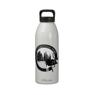 Yellowstone park Elk Drinking Bottles