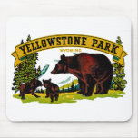 Yellowstone Park Mouse Pads
