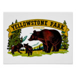 Yellowstone Park Posters