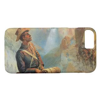 Yellowstone Park Sunset 1897 iPhone 7 Case