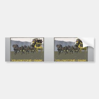 Yellowstone-Park, Vintage Bumper Stickers