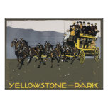 Yellowstone-Park, Vintage Posters