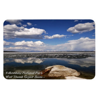 YELLOWSTONE PARK, WEST THUMB GEYSER BASIN FLEXIBLE MAGNETS