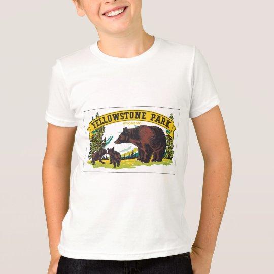 Yellowstone Park Wyoming, Vintage T-Shirt