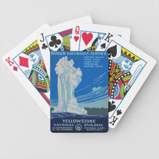Yellowstone! Bicycle Playing Cards