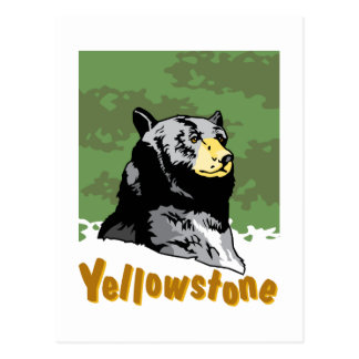 Yellowstone Poster Postcard