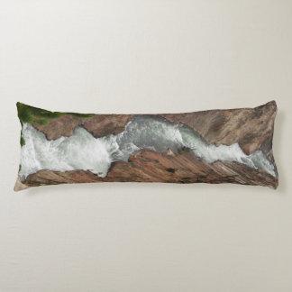 Yellowstone River Body Pillow