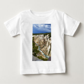 Yellowstone River Canyon Baby T-Shirt