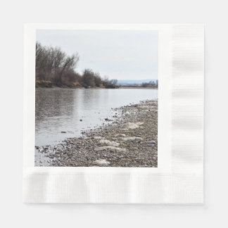 Yellowstone River Coined Luncheon Napkin