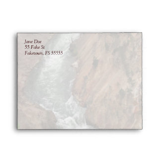 Yellowstone River Custom Envelope
