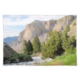 Yellowstone River Cloth Place Mat