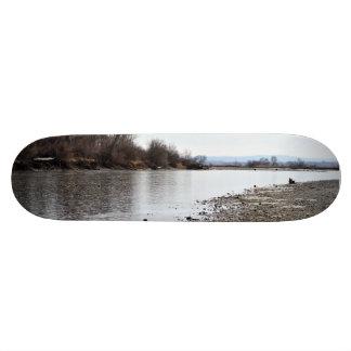 Yellowstone River Skateboard Deck