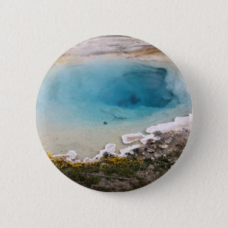 Yellowstone Spring Button