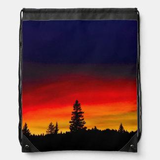 Yellowstone Sunset Cinch Bag
