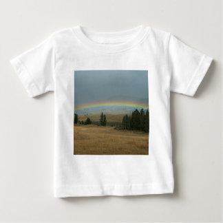 Yellowstone Sunset Rainbow Montana Baby T-Shirt