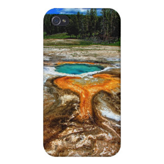 Yellowstone Thermal Pool Cases For iPhone 4