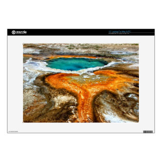 """Yellowstone Thermal Pool Decal For 15"""" Laptop"""