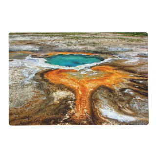 Yellowstone Thermal Pool Laminated Placemat