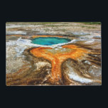 """Yellowstone Thermal Pool Placemat<br><div class=""""desc"""">In a seldom-visited area of Yellowstone National Park</div>"""